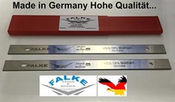 2 Stück HSS Elektra Beckum HC260M HC260C/K Hobelmesser 260x19x1,5mm -