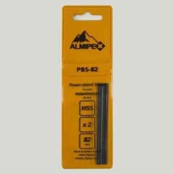 2 Stück HSS Hobelmesser Ersatzmesser 82 x 5,5 x 1 mm -