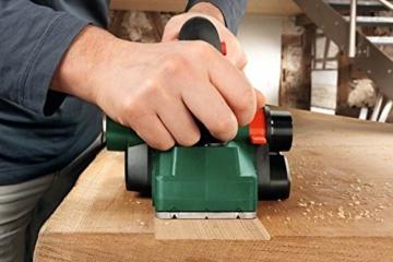 Bosch DIY Handhobel PHO 2000, Hobelmesser, Karton (680 W, Hobelbreite 82 mm, Spantiefe 0 - 2,0 mm, Falztiefe 0 - 8 mm) -