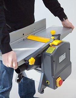 STAHLMANN Hobelmaschine Abricht- und Dickenhobel - Aktion: inkl. Ersatz-Hobelmesser im Wert von EUR 29,99 -